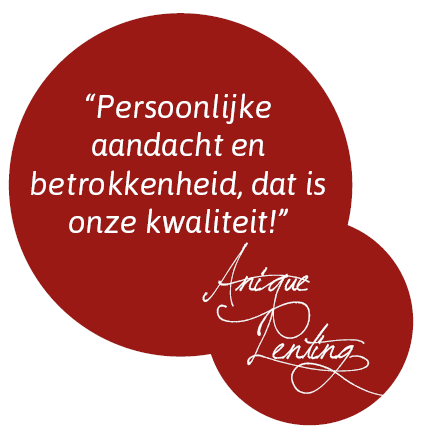 Anique Lenting UWassistent in Zwolle